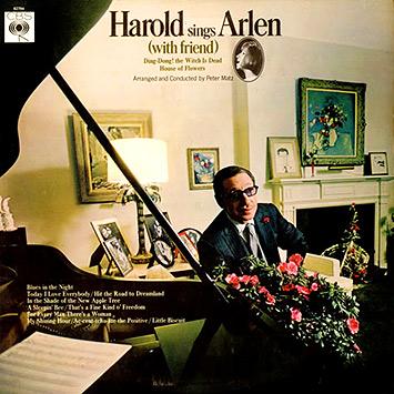 HAROLD SINGS ARLEN (with Friend) (1966)