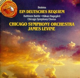 BRAHMS: A GERMAN REQUIEM WITH JAMES LEVINE AND THE CHICAGO SYMPHONY ORCHESTRA (1984)