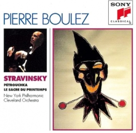STRAVINSKY: LE SACRE DU PRINTEMPS WITH PIERRE BOULEZ AND THE CLEVELAND ORCHESTRA (1970)